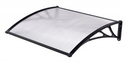 CANOPY CLEAR-BLACK 60x100